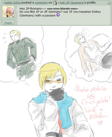 Macho Potato vs Couch Potato :4: by Ask-2P-Spamano