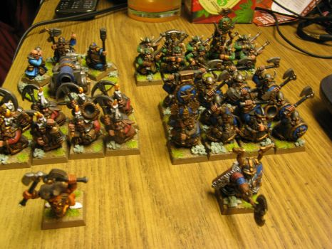 Battle for the Skull Pass Dwarf Army Pic 6 by Arival