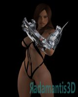Witchblade Sara test by Radamantis3d