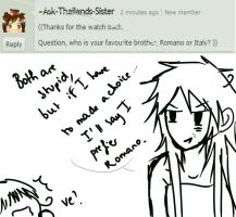 Question 1 : Who is your favourite brother ? by Ask-NaplesVargas-APH