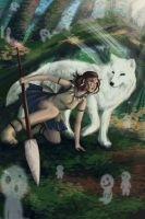 Mononoke by SaintPrecious