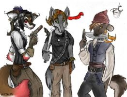 I TEH HOSTAGE OF KITH AND RC by CunningFox