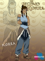 Korra by niniisolated