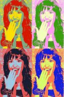 Demi Lovato Pop Art by DemiFan101