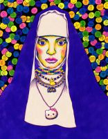 Ecstasy of St. Teresa by PaintMyWorldRainbow