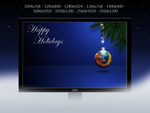 Firefox Christmas Ornament Wallpaper Pack by KenSaunders