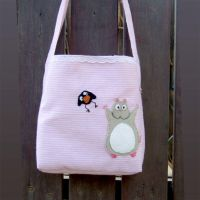 Spirited away bag with mouse and baby fly by yael360