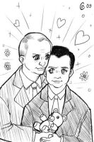 Putin x Medvedev slash by Autumn-Sacura