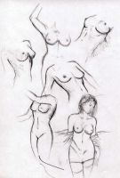 Boceto mujeres by SimonTroncoso