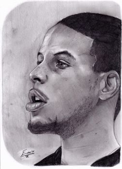 Stephen Curry-Golden State Warrior by LightvsRight