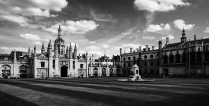 King's College, Cambridge by Horroromance
