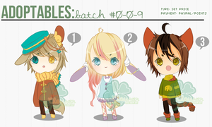 [ADOPTS][CLOSED]: KEMONOMIMI RANDOM [ALL ADOPTED] by Clouver