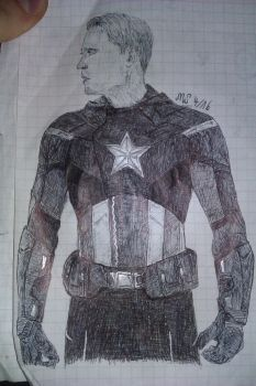 Captain America by fanficgirl155
