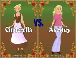 Cinderella vs Ashley (Revised) by Sunshine-Girl524