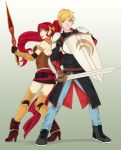 Pyrrha and Jaune by LinART