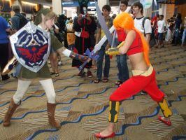 Link VS Gerudo by LinkInSpirit