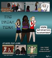 """Glee"" Fanart: The Dream Team by morphmaker"