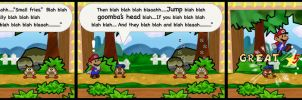 Goombario the Know it All by jloli