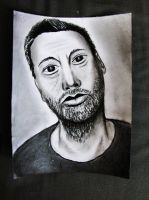 Man drawing by NilleMusic