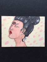 Japanese Seeress ACEO by brittkay