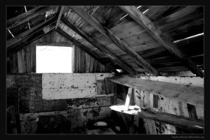 Inside old building by timlori