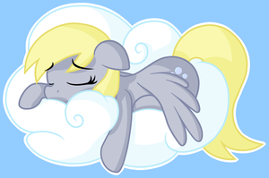 Sleeping cross eyed horse by furrgroup