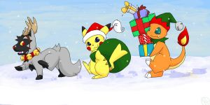 Christmas March by NeoTheBean