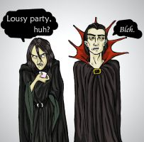 Sanguini and Snape by felegund