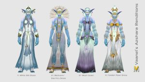 Azshara Outfit Collection by Vaanel