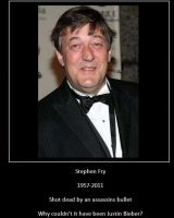 In Memory of Stephen Fry by alimination602