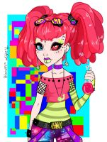 Bionemia [ Monster High OC] by AnitaTrashlove
