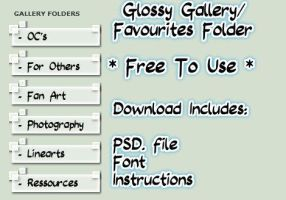 Glossy Gallery Folder Pack *FREE* by Alkraas