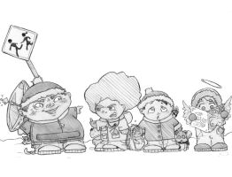 SOUTH PARK by xjotica