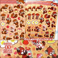 Ponwan Sticker Set by celesse
