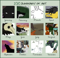 2010 Art Summary by Saceronsage