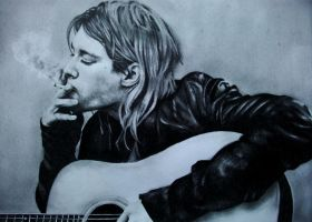 Kurt Cobain by ArtIsLife88