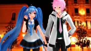 MMD First Exit With He! by MsYelenaJonas