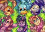Mane Six by GreyRadian