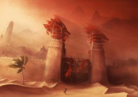The Gates of Umbar, Harad by DireImpulse