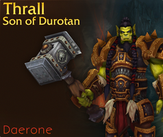 Thrall, Son of Durotan by Daerone