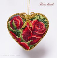 Roses heart by lovebiser