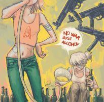 no war just alcohol by kiyaaa
