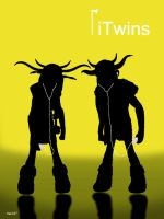 iTwins - Ruffnut and Tuffnut by frans97