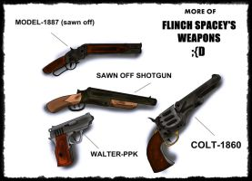guns More Of Flinch Spacey's Weapons by ChristoMan