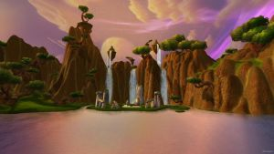 Nagrand ~ World of Warcraft by Oblivigate