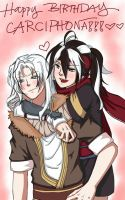 Happy Birthday to Shilin's CARCIPHONA!! by revoLiruY