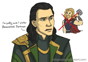 Loki prefers by Phageous