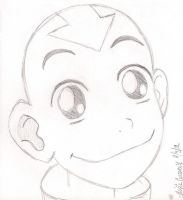 Aang In 'The Great Divide' by RosieMe