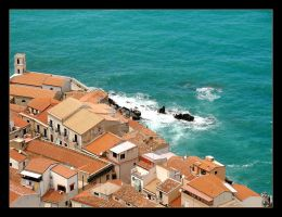 The City And The Sea - Cefalu - 1 by skarzynscy