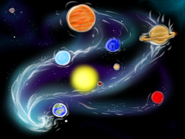 Planets by kristhasirah